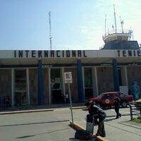 Photo taken at Aeropuerto Internacional Alejandro Velasco Astete (CUZ) by on3_g on 9/15/2012