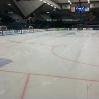 Photo taken at Alfond Arena by Jeffrey C. on 11/4/2012
