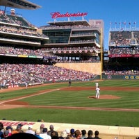 Photo taken at Target Field by Chris W. on 9/26/2012