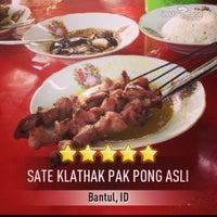 Photo taken at Sate Klathak Pak Pong Asli by superdogye 🐶 on 8/16/2013