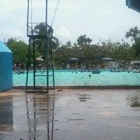 Photo taken at Tirta Wiguna Swimming Pool by Andika Dwi P. on 3/11/2012