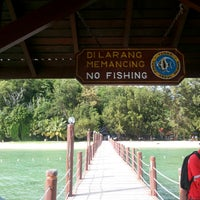 Photo taken at Manukan Island Jetty by Md J. on 12/7/2014