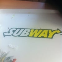 Photo taken at Subway by Fernando R. on 1/30/2013