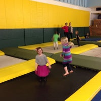 Photo taken at Collingwood Trampoline by Image By D. on 4/13/2014