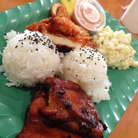 Photo taken at Mokis Hawaiian Gril by Kaizer K. on 11/21/2013