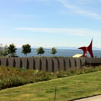 Photo taken at Olympic Sculpture Park by Benjamin S. on 6/4/2013