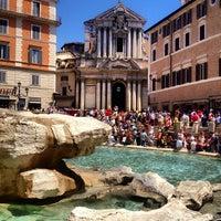 Photo taken at Piazza di Trevi by Nikita K. on 6/23/2013