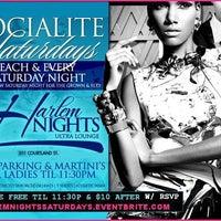 Photo taken at Harlem Nights Lounge by Raleigh J. on 11/30/2012