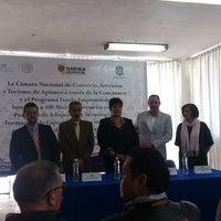 Photo taken at Presidencia Municipal Apizaco by MARCO ANTONIO C. on 2/7/2014