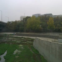Photo taken at Guadalupe River Park & Gardens by Alex F. on 11/7/2012