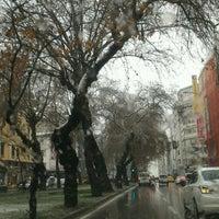 Photo taken at Şair Eşref Bulvarı by FATOŞ U. on 1/10/2017