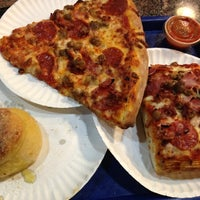 Photo taken at Old Manhattan Pizza by Mark S. on 2/3/2013