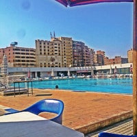 photo taken at olympic swimming pool shams club by ahmad y on 728 - Olympic Swimming Pool 2014