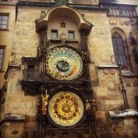 Photo taken at Prague Astronomical Clock by Ana Carla C. on 1/23/2013