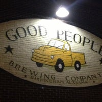 Photo taken at Good People Brewing Company by Ralph M. on 11/25/2012