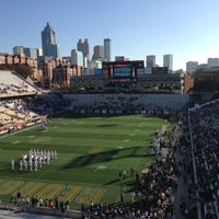 Photo taken at Bobby Dodd Stadium by Stephen G. on 11/17/2012