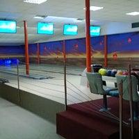 Photo taken at Excalibur bowling by Jan B. on 2/20/2014