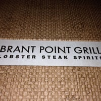 Photo taken at The Brant Point Grill at The White Elephant Hotel by George Z. on 10/5/2014