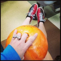 Photo taken at AMF All Star Lanes by Alaina P. on 4/10/2013
