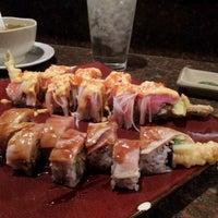 Photo taken at Benja Thai & Sushi by Kristie B. on 12/14/2012