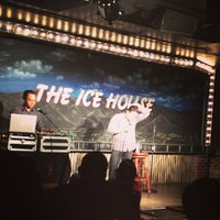 Photo taken at Icehouse Comedy Club Pasadena by Sal E. on 5/1/2013