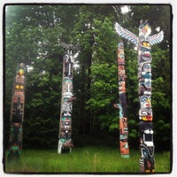 Photo taken at Totem Poles in Stanley Park by ykchat on 5/17/2013
