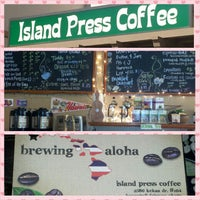 Photo taken at Island Press Coffee by Elise S. on 9/17/2014
