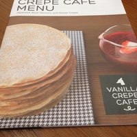 Photo taken at Vanilla Crepe Cafe by Chayathorn D. on 5/1/2013