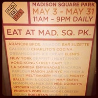 Photo taken at Mad. Sq. Eats by Stacy N. on 5/6/2013