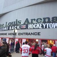 Photo taken at Joe Louis Arena by Matt F. on 3/7/2013