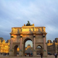Photo taken at Arc de Triomphe du Carrousel by Anil P. on 11/18/2012