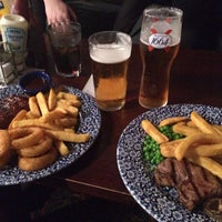 Photo taken at The Central Bar (Wetherspoon) by Zuzana I. on 11/15/2016