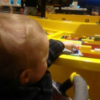 Photo taken at The LEGO Store by EJ S. on 3/23/2013