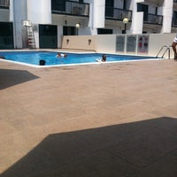 Photo taken at Golden Sands Hotel Apartment (Swimming Pool) by Hamad A. on 7/28/2014