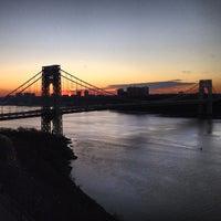 Photo taken at George Washington Bridge by Thomas C. on 12/28/2012