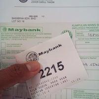Photo taken at Maybank Berhad by Amir I. on 3/25/2014