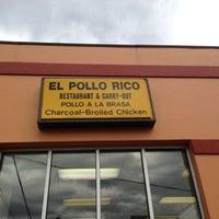 Photo taken at El Pollo Rico by Jamila W. on 10/8/2012