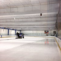 Photo taken at Ice Center by Aki Y. on 1/27/2015