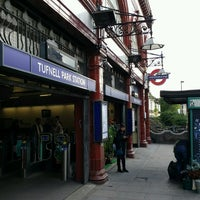 Photo taken at Tufnell Park London Underground Station by Adam P. on 10/15/2016