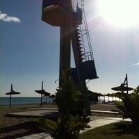 Photo taken at El Horno Beach Chiringuito by Bert K. on 12/28/2014