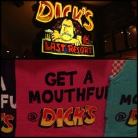 Photo taken at Dick's Last Resort by LaTruce d. on 1/18/2013