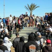 Photo taken at Santa Clarita Skate Park by Garret S. on 2/1/2014