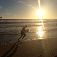 Photo taken at Huntington Beach Beach Volleyball Courts by Kimberly B. on 10/23/2014