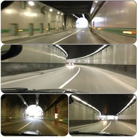 Photo taken at Tunnel de Monaco by Bogdan S. on 2/9/2013
