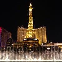 Photo taken at Paris Hotel & Casino by Jina P. on 5/20/2013