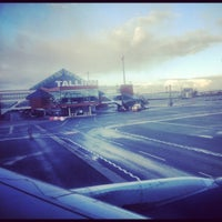 Photo taken at Lennart Meri Tallinn Airport (TLL) by Sanek76 on 11/12/2012