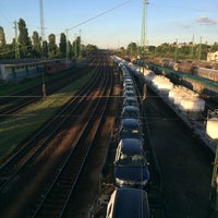 Photo taken at Ferencváros vasútállomás by Viktor S. on 8/3/2016