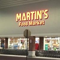 Photo taken at Martin's Food Market by David M. on 9/21/2016