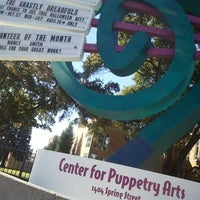 Photo taken at Center for Puppetry Arts by Bryan on 10/20/2012