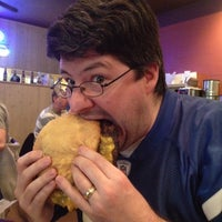 Photo taken at Bub's Burgers & Ice Cream by Jon T. on 4/21/2013